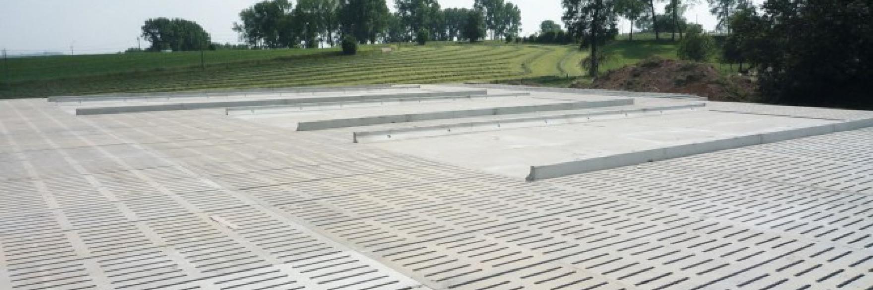 Roostervloer beton